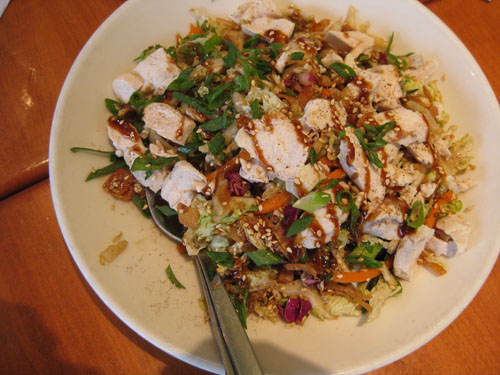California Pizza Kitchen Chinese Chicken Salad Weight Watchers Points