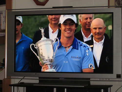 rory mcilroy us open pictures. hair McIlroy won the U.S. Open