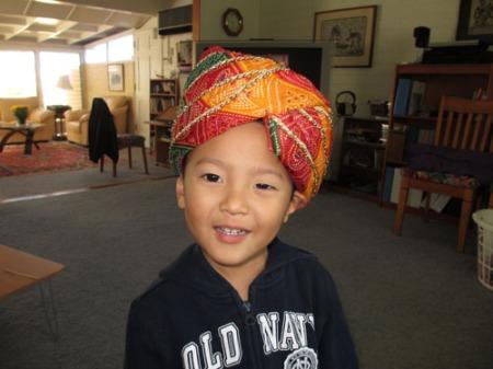 indian turban 001-A