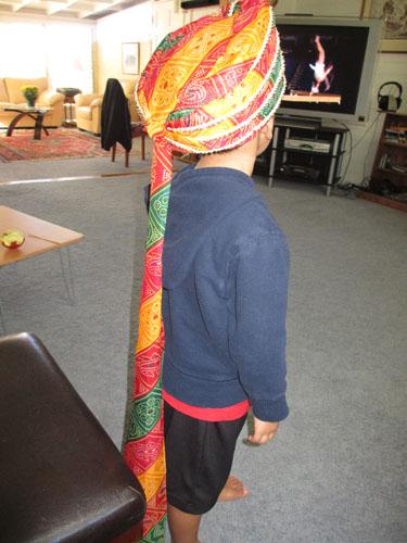 indian turban 002-A