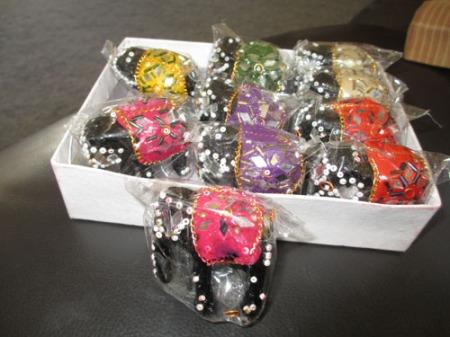 bracelets, elephants 004-A