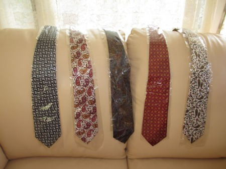 neck ties, scarves from India 002-A