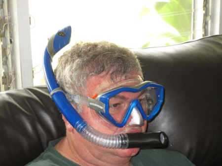 snorkel and mask 003-A