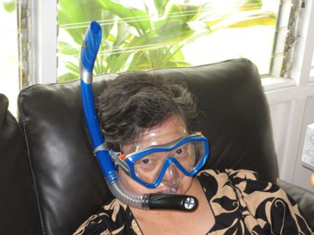 snorkel and mask 008-A