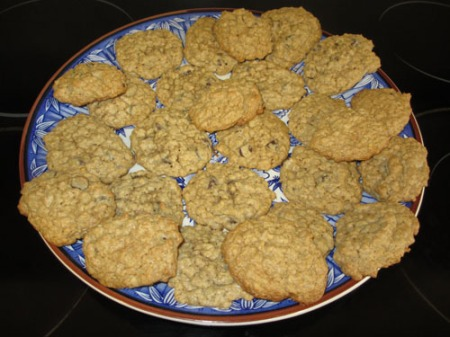 chocolate oatmeal cookies-Christine 001-A