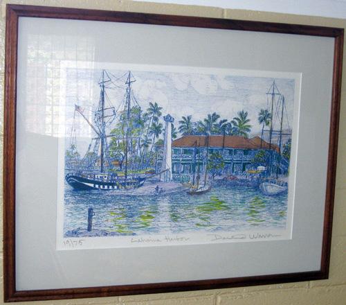 David Warren Artist Gigi Hawaii