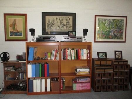 2 bookcases 003-A