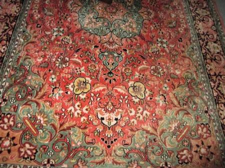 silk rug 001-A