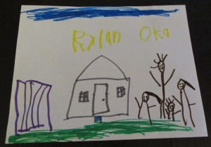 Kids art work 014-A