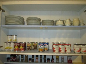 Kitchen cupboards 006-A