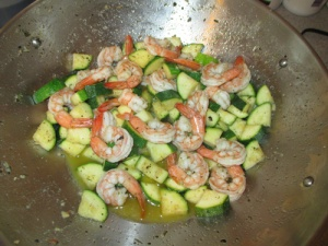 Shrimp and Zucchini 003-A