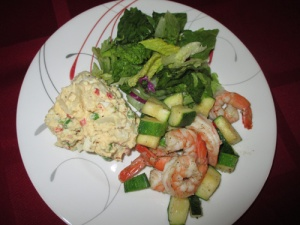 Shrimp and Zucchini 004-A