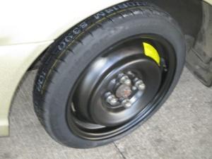 Flo, Pineapple Rm, flat tire 012-A
