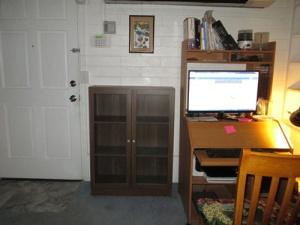 Grandkids, bookcase 038-A