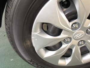 New wheel cover 002-A
