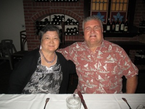 36 wedding anniversary - Morton's 003-A