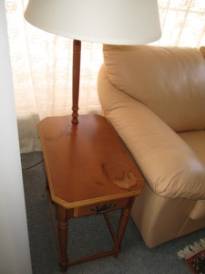 Old end tables 011-A