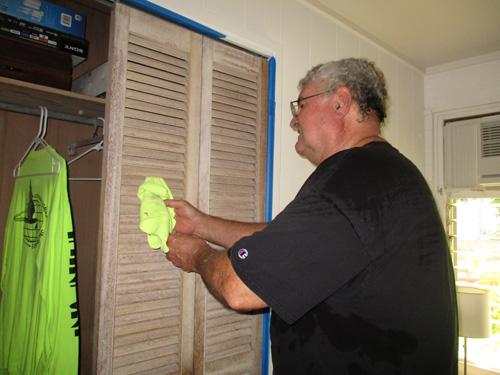 Painting Closet Doors Gigi Hawaii