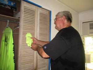 Painted closet doors 004-A