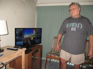 Grandkids, David, me 008-A