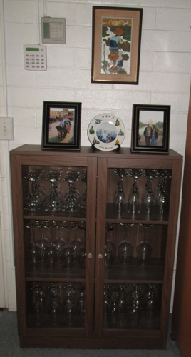 wine glass cabinet david and gigi hawaii 29306