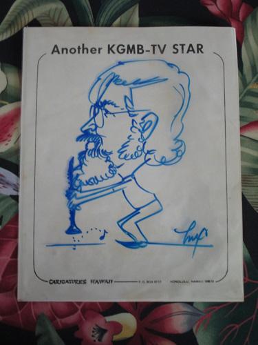DAVID caricature, letter 004-A