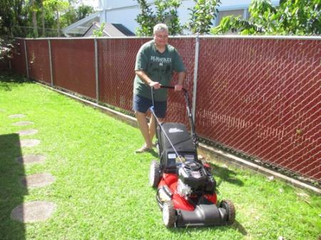 Lawn mower 001-A