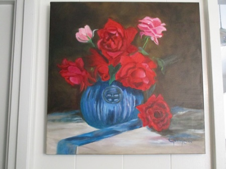 Flowers on my walls 011-A
