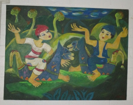 Indonesian art 007-A